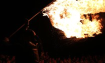 Die Feuershow der Frankonier begeisterte wieder die Massen